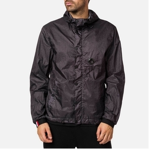 Men Water-repellent Garment Dyed Rain Jacket