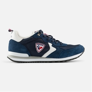 Men's Rossignol Heritage Navy Blue Sneakers