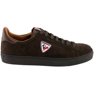 Women's Rossignol Alex Brown Velour Leather Sneakers